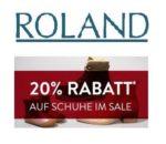 Roland Schuhe: Jetzt im Sale bis zu 50% Rabatt + 20% Extra-Rabatt!