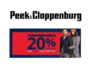 01e5ec410450b9 Vorbei Bis Montag bei Peek   Cloppenburg  20% Extra-Rabatt auf Sale Artikel!
