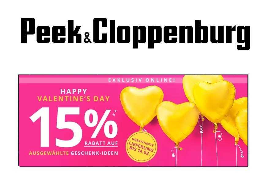 c3ce4433a2aea5 Peek   Cloppenburg  15% Rabatt auf ausgewählte Geschenk-Ideen zum ...