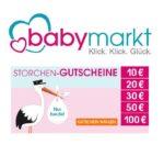Babymarkt: Geburtstagsgutscheine bis zu 100€ Rabatt *heute*
