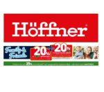 Möbel Höffner: 20% & 20% Rabatt & 25% Rabatt auf Gartenmöbel!