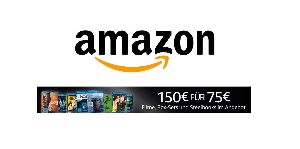 amazon deal f r 150 filme auf blu ray kaufen und 75. Black Bedroom Furniture Sets. Home Design Ideas