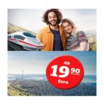 Sparpreis der Deutschen Bahn – ab 19,90€ quer durch Deutschland!