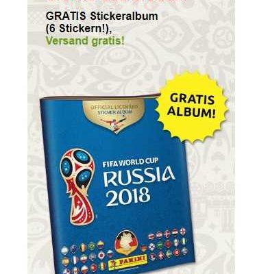 GRATIS: PANINI Album zur FIFA World Cup Russia 2018