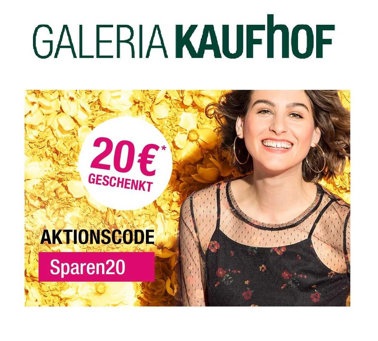 Galeria Kaufhof: 20, € Rabatt auf (fast) alles! MBW 150, €