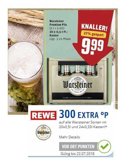 Offline Rewe Kiste Warsteiner Für 999 300