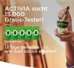 Gratis Testen - ACTIVIA Joghurt 12 Tage lang testen