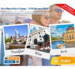A&O Hotelgutschein: € 89.00 inkl. Frühstück für 2 Nächte und 2 Personen, z.B. Amsterdam, Wien oder Salzburg