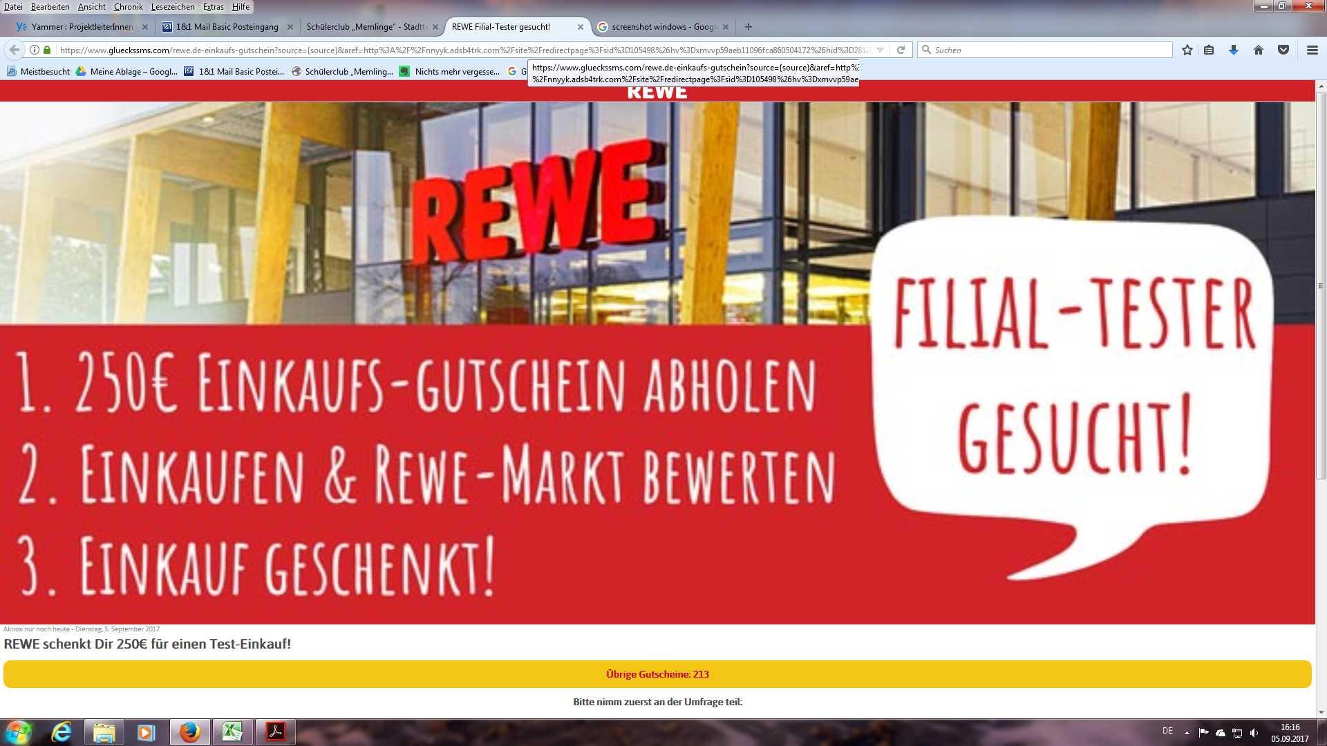 Rewe Verschenkt 250 Eur Einkaufs-Gutscheine: Rewe.De-Dein-Gutschein.Com