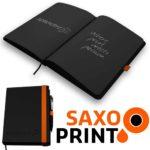 Gartis Blackbook inkl. Stift in weiß **Klo,- Gäste,- Meine Freunde Buch**