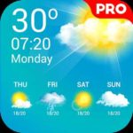 Gratis: Weather Live Pro (Wettervorhersage) Android-App (statt 4,29€)