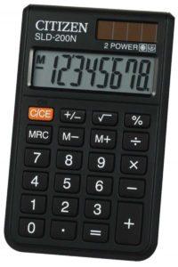 citizen-sld-200n-taschenrechner-schwarz-fuer-314-e