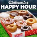 Dunkin' Donuts: 6er-Box Donuts kaufen + 2te Box GRATIS dazu bekommen
