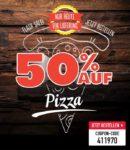 Domino´s Pizza Nur HEUTE: 50% auf Pizza!