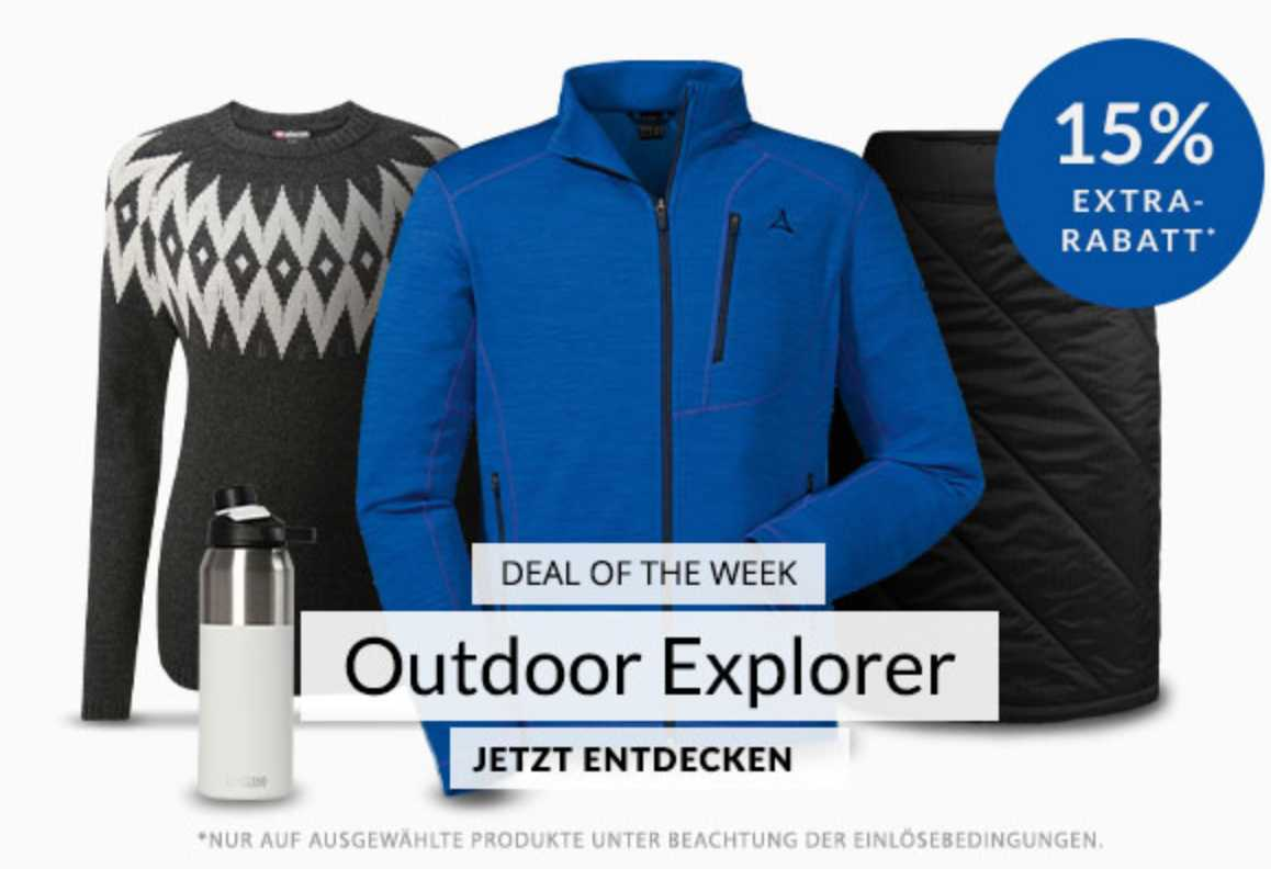 Engelhorn Sports: 15% Rabatt für Outdoor Explorer