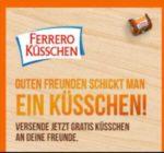 Ferrero Küsschen: kostenlose Grußbox verschicken