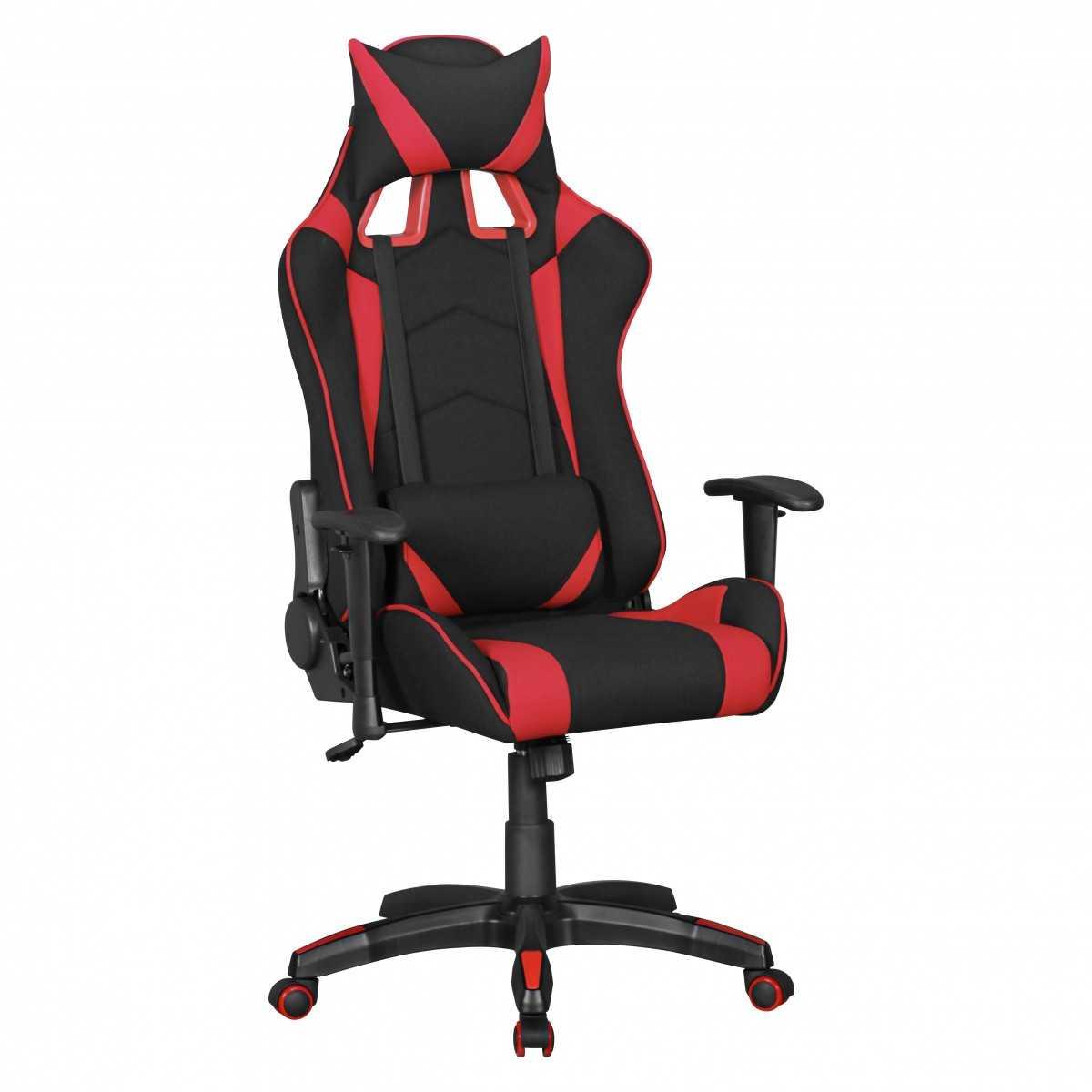 Eye Catching Schreibtischstuhl Ohne Armlehne Reference Of Finebuy-goal-gaming-chair-mit-stoffbezug-schreibtisch-stuhl-