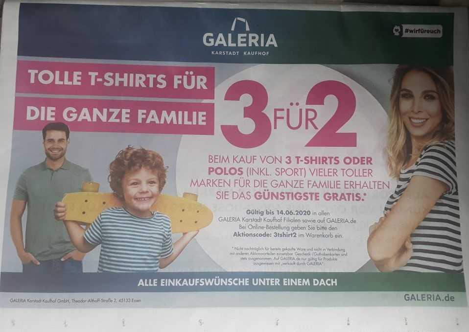 GALERIA Karstadt Kaufhof T Shirts & Polos