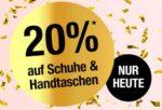 Galeria Kaufhof: 20% auf Schuhe & Handtaschen