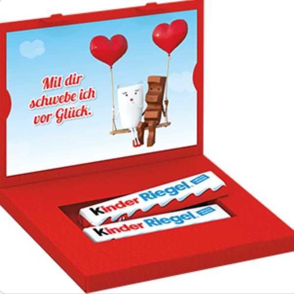 kinder Riegel Liebespost Gutschein kostenlos