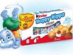 kinder Happy Hippo cacao gratis testen