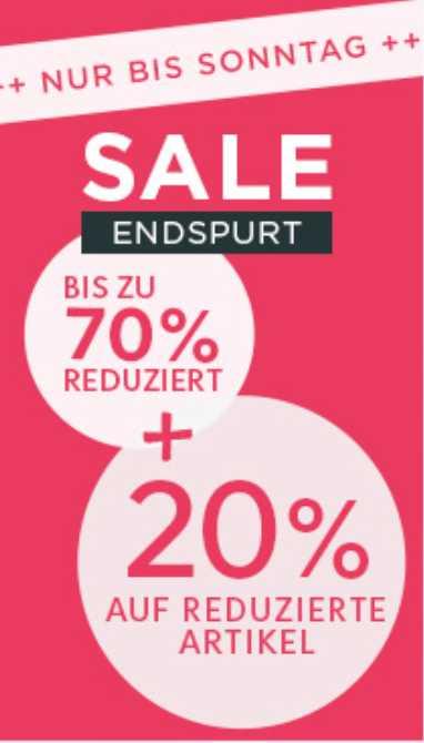 newest b0982 bafe2 Heine: Bis zu -70% im Sale & 20% zusätzlich