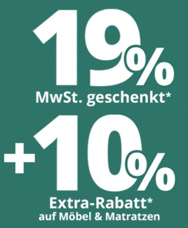 Höffner Mwst Anteil Geschenkt 10 Extra