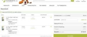 Bosch Hundefutter: 60 kg für 87,06€ inkl. Versand