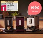 Kaffeevollautomat Tchibo Esperto Caffè in 2 Farben für 199€ (statt 269€)