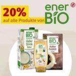 20% auf alle enerBio Produkte +10% auf alles (ab 14.06.2021 - Rossmann)