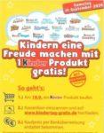 GRATIS kinder Produkt zum Weltkindertag am 19.09.20