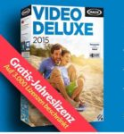 Gratis-Jahreslizenz von Video deluxe 2015 classic bei heise.de