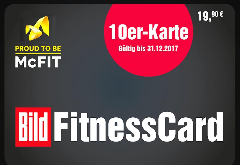 McFit 10er Karte für 19,90€