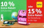 myToys: 10% auf Schulartikel & über die App 15%