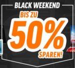 Notebooksbilliger Black Weekend: Bis zu 50% Rabatt auf Notebooks, Haushaltsgeräte, Fernseher, Smartphones uvm.