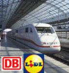 *Endet heute* 2 Fahrten durch ganz Deutschland (DB) für 54,90€ bei Lidl