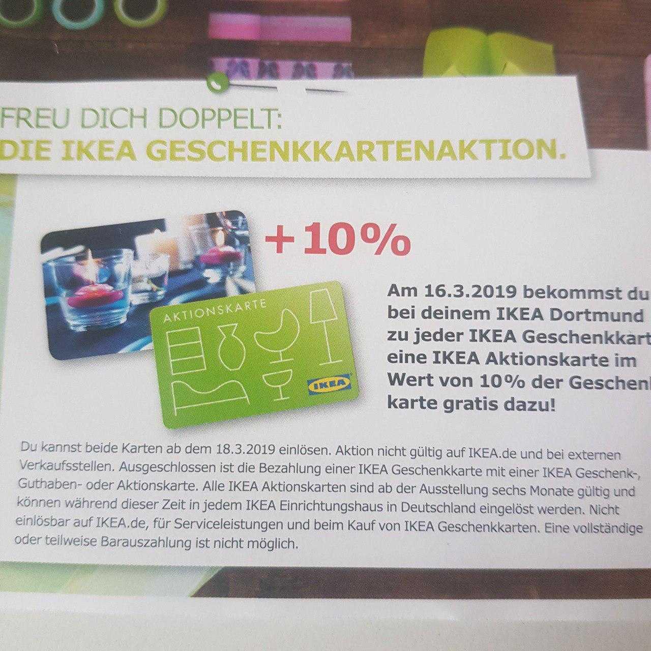 Nur Heute Im Ikea Dortmund 10 Extraguthaben Auf Alle