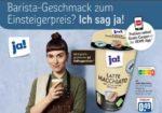 [Rewe App] 1x Gratis Ja! Kaffeespezialität verschiedene Sorten ab einem Einkauf von 10€, gültig vom 05.04. - 11.04.2021