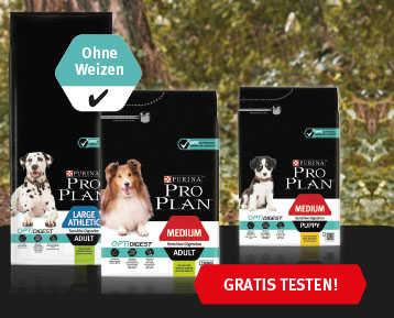 hundefutter gratis testen