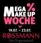 Rossmann: Mega Make Up Woche mit 20% Rabatt bei Rossmann