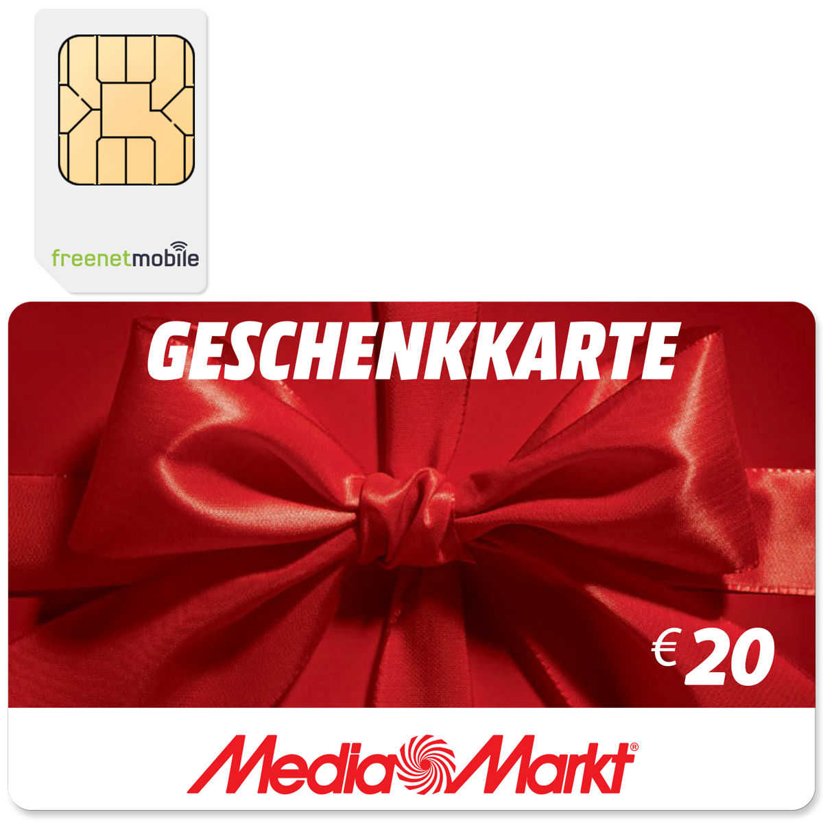 freenetmobile duo sim karte 20 00 eur media markt saturn gutschein kostenlos schn ppchen. Black Bedroom Furniture Sets. Home Design Ideas