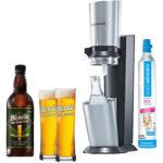Soda Stream Crystal + Blondie Bier-Konzentrat Wassersprudler