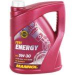 5W-30 Motoröl 5 Liter MANNOL Energy