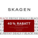 ⌚ Skagen Black Friyay Deals: 40% Rabatt auf (fast) Alles - Smartwatches, Uhren & Schmuck