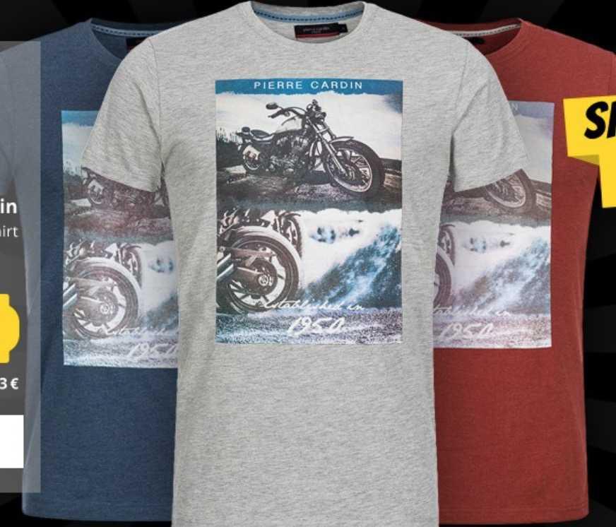 newest b6ce7 b8407 Sportspar: Pierre Cardin Herren Print T-Shirts für je 6,66 €