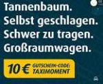 MyTaxi: 10€ Gutschein für Neu- & Bestandskunden
