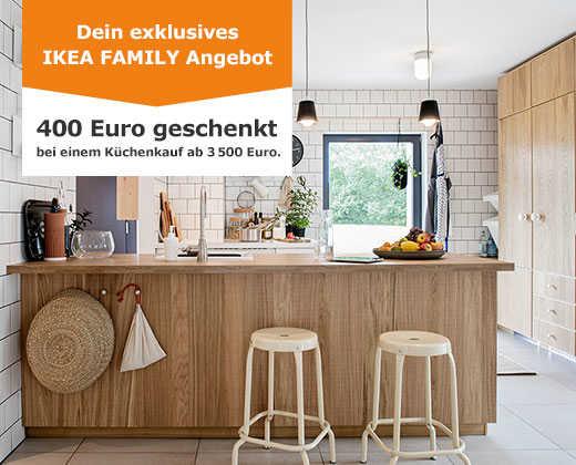 Ikea Family - 400 Euro geschenkt beim Küchenkauf ab 3.500 Euro / 100 ...