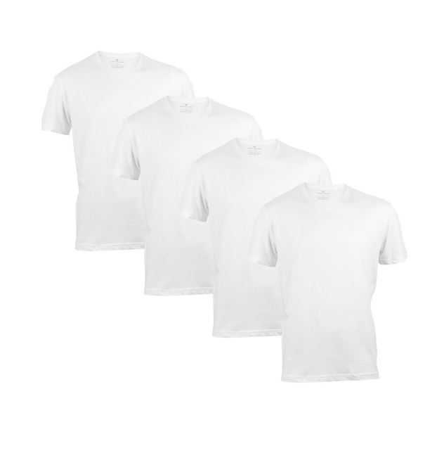 8e2dce217739e6 Tom Tailor Herren Basic T-Shirt O-Neck   V-Neck - 4er Pack
